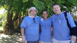 Pastor Ruddy Carrera with Mission Mission Team