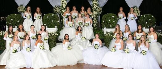 Photo courtesy Nick Boswell Photography The Las Madrinas Debutantes include (front row, from left) Caroline Williams, Lauren Cord, Margarita Higgins, Sofia Bennett, Lucy Harvey, Rubina Garland, Mary Kruberg and Katherine Harrison. Second row: Ava Adams, Gillian Yang, Kelly Morgan, Jennifer Rokus, Grace Ewell, Olivia Matthiessen, Carolyn Pasqualetto, Jessica Yang and Christine Babcock. Third row, seated: Lauren O'Brien, Penelope Brittingham and Liliane Eichler. Back: Katherine MacPherson, Elizabeth McKenzie, Darby Read, Jacqueline Baggott, Claire Chapus, Phoebe Brooks, Quincy Foster and Paige Thompson. Not pictured: Bridget Kolsky.