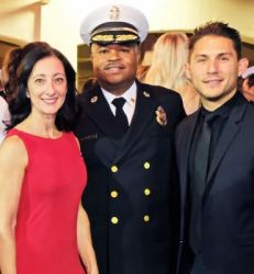 Pasadena Fire Foundation Gala chair Carla Buigues, Fire Chief Bertral Washington and PFF board chair Daniel Arias celebrated the nonprofit's revitalization at its inaugural fundraiser last year.