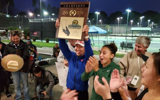 Head coach Gene You guided Westridge to its first CIF tennis title in 38 years.
