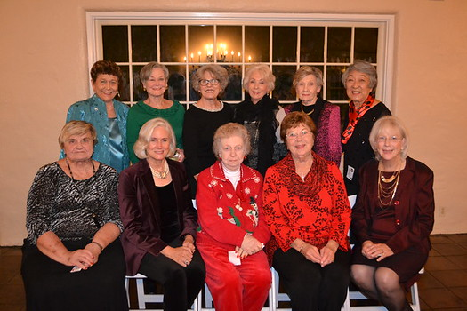 Assistance League board: Eva Macho (front row, from left), Nancy Asher, Dotty Greenawalt, Molly Brockmeyer and Sue Sheedy. Back: Anne Hills, Julie Crum, Nancy Gunther, Dona Crawford, Else Lord and Irene Christensen.