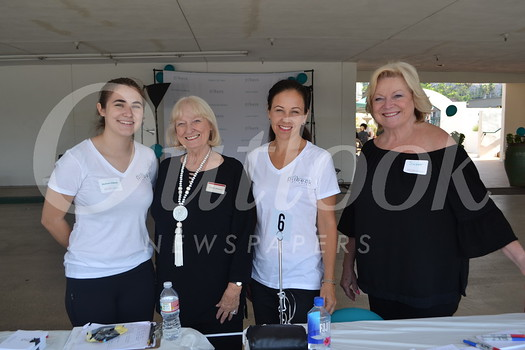 Shannon Dilbeck, Sherry Keowen, Prudence Stein-Greene and Susan Renick