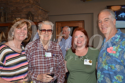 Mayor Terry Walker, Jim Wallace, Melissa Langston and Woody Walker