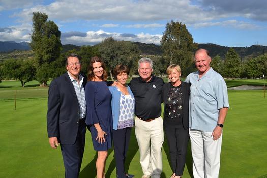 Dave Battaglia, Deborah Weirick, Julie Battaglia, USC-VHH CEO Keith Hobbs, Chief Strategy Officer Shawn Sheffield and John Taylor