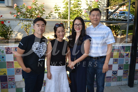 John Kim, Kathy Yoon, and Yoona and John Park