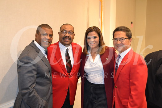 Raphael Henderson, 2018 Tournament of Roses President Gerald Freeny, Alice Juarez and Rich Chinen
