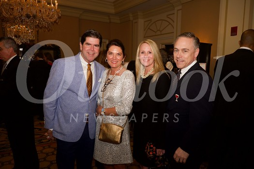 Event co-chair Michael Dunn, Kelly Dunn, and Lisa and Lee Sailor