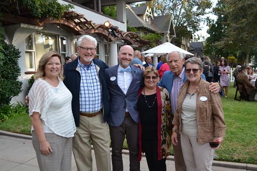 Board President Bobbi Abram, David Jones, Executive Director Mark Waterson, Deborah Lewis, Stanley Pine and Lorie Judson