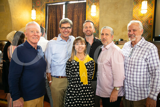 Mike Deasy, George Penner, Lynwen Hughes, Sean Vandygriff, Randy Abrams and Bill Derrick
