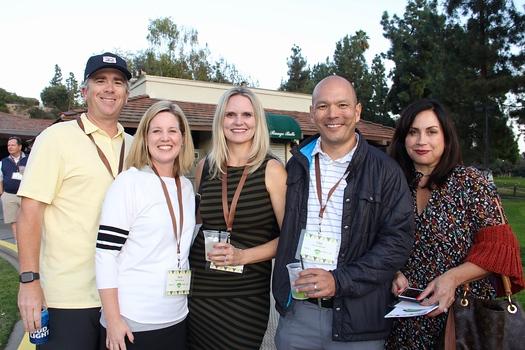Erik and Sara Larson, Heidi Hamilton, Clay Christensen and Amber Serrano
