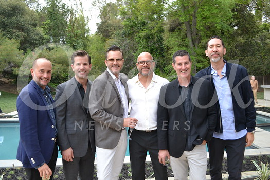 Raul Lamelas, hosts Tim Durkovic and Mark Liddell, Chad Stansbury, Chris Prince and Jeremy Lappen