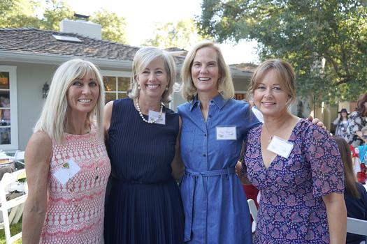 Nancy Marderosian, Martha Brown, Cayce Sheppard and Kelli Slattery