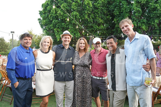 Tom Straeter, Joy Dunn, Jason Berns, Andrea Williams, Dave Inciong, Brian Dunkleman and Greg Williams