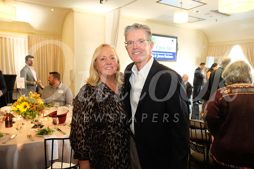Honorees Jeanne and Mike Beckman