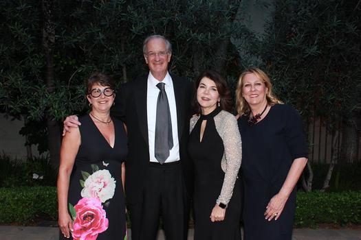 Elizabeth Hoxworth, Dr. Robert Pynoos, Debbie Manners and Rita Henderson