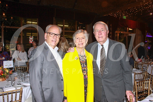Hillsides CEO Joseph Costa with capital campaign co-chairs Debbe Booth and Don Clark
