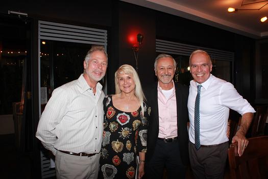 Bill Eichler, Shelly and Mario Fiumani, and Edison Barbosa