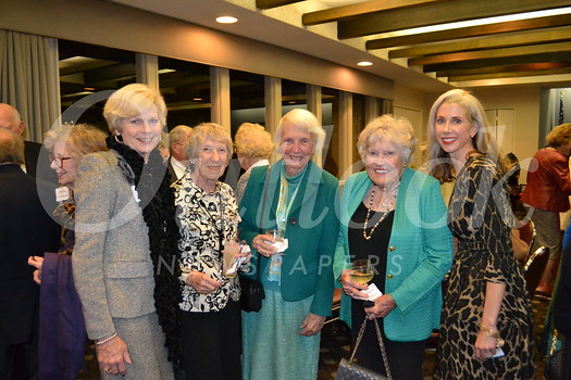 Joan Dietrick, Nancy Ebenshade, Marguerite Hennacy, Barbara Heublein and Allison Dietrick