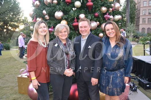 Tori Schaulis, Elizabeth House Executive Director Debbie Unruh, Langham Huntington Managing Director Paul Leclerc and Susan Willinger