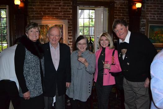 Sally Bixby, Larry and Mireya Jones, and Vivien Stanley-Foran and William Foran