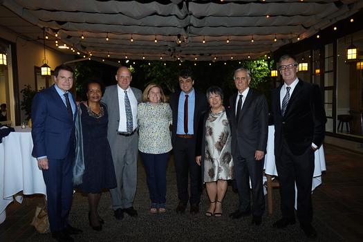 Tony Fellow, Berlinda Brown, Jim Osterling, Erika Endrijonas, Alex Sarkissian, Linda Wa, John Martin and Hoyt Hilsman