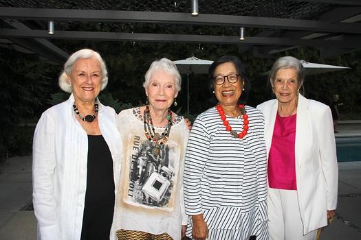 Judy Whiting, Marsha Bohr, Jetty Fong and Hildegard Lindsay