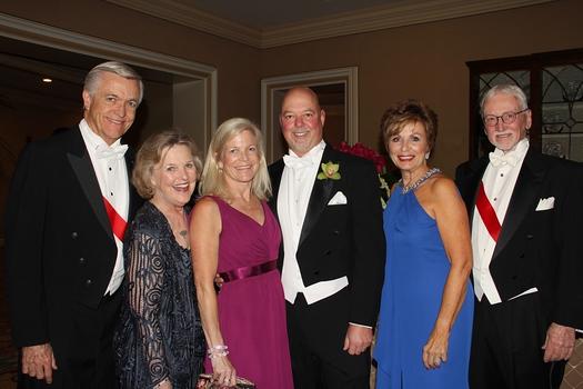 Dan and Joni Baker, Elizabeth and Dan Halden, and Becky and Bill Garnett