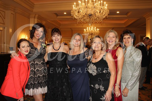 Gala committee members include Cynthia Lloyd, Kathryn Winslow, chair Kera Saenz de Maturana, Andrea Fetterman, Pat Kalish, Suzanne Brugge and Valerie Weiss.