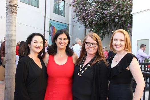 Shoshana Puccia, event co-chairs Renee Norton and Maria Campagna, and Kathleen Green