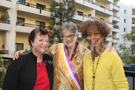 Susanne Spangler, Martha Wheelock and Beverley Morgan-Sandoz