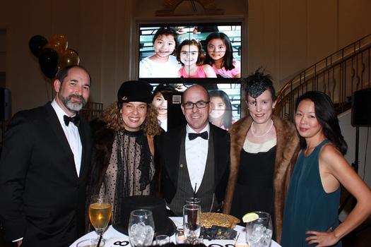 Jason and Caroline Fabbro, Rich and Jenny Anthony with Jennifer Kang
