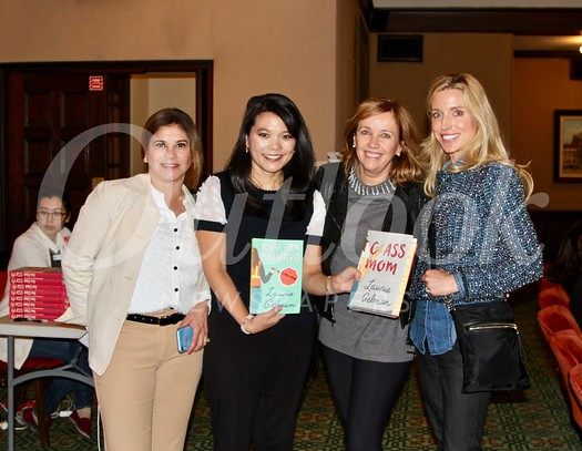Linda Gutierrez, Julie Lin, author Laurie Gelman and Ginger Bercaw