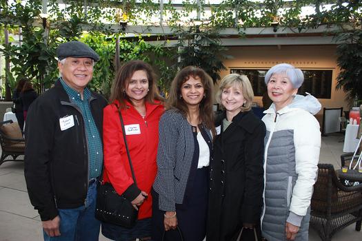 Robert Louie, Crystal Rodricks, Gail Roque, Janet Louie and Elizabeth Chikuami