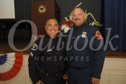 12 Honorees Police Corporal Kenric Wu and Firefighter/Paramedic Russell Wilcox