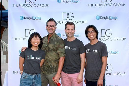 Lingyu Liu, Mark Liddell, Tim Durkovic and Jason Kudo