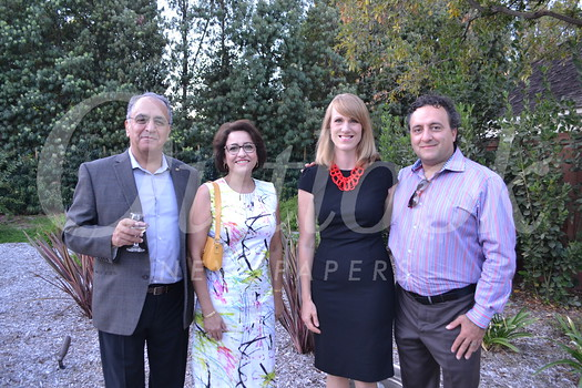 Levon and Liliana with Door of Hope Executive Director Megan Katerjian and her husband, Harout.