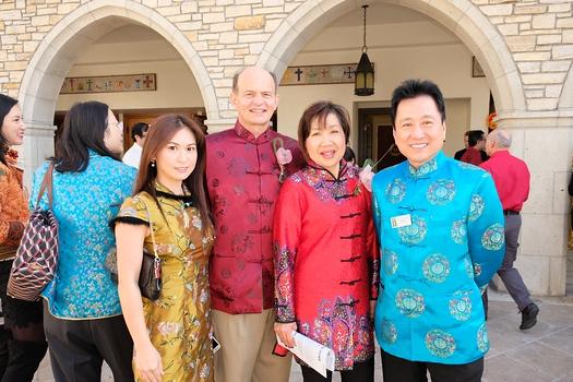 4 Jamie Lee, Paul and Annie Brassard with Arcadia Mayor Pro Tem Sho Tay