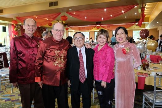 Paul Brassard, Andrew Kindler, C. Joseph Chang, Jenny Chiang and Annie Brassard