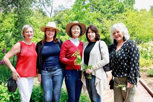 Petra Goldsmith, Birgit Woodward, Ming Jiang, Lisa Gibbs and Ren Leftwich