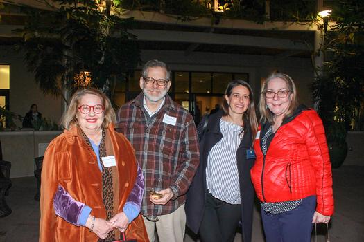 Katherine Tripodes, Jeff Plumley, Marina Kohler and Irene McDermott
