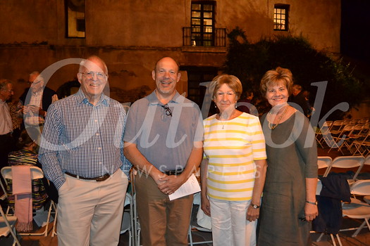 Bill Gardner, John Dustin, Connie Morris and Susan Jakubowski
