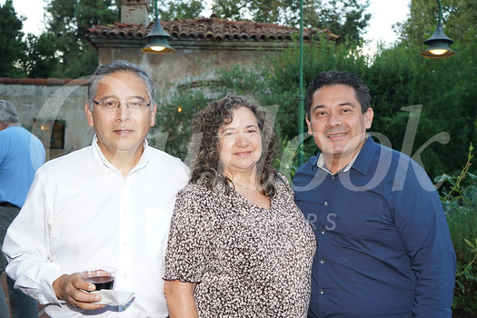 Richard and Paty Patlan with Omar Hernandez