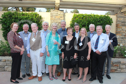 Reunion committee members include Pricilla Young Gilliam (front row, from left), Richard Thomas, Mary Marshall Payne, Leah Tripodes Pastis, Linda Garrett Whitson and Ken Veronda. Back: Paul Bennett, Kenneth Hill, chair Kirk Bowman, Gary Thomas, Chris Datwyler and James McKellar.