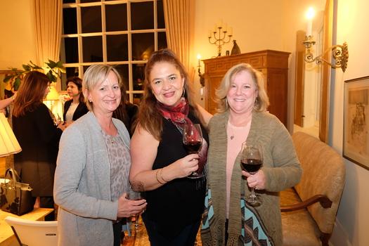 Petra Goldsmith, Rosa Madrigal and Pam Osgood