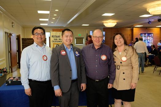 John Chang, Devlin Chung, Andrew Kindler and Ginny Hsiao