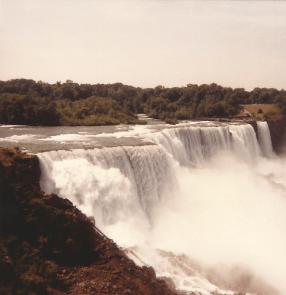 Horseshoe Falls at Niagra Falls