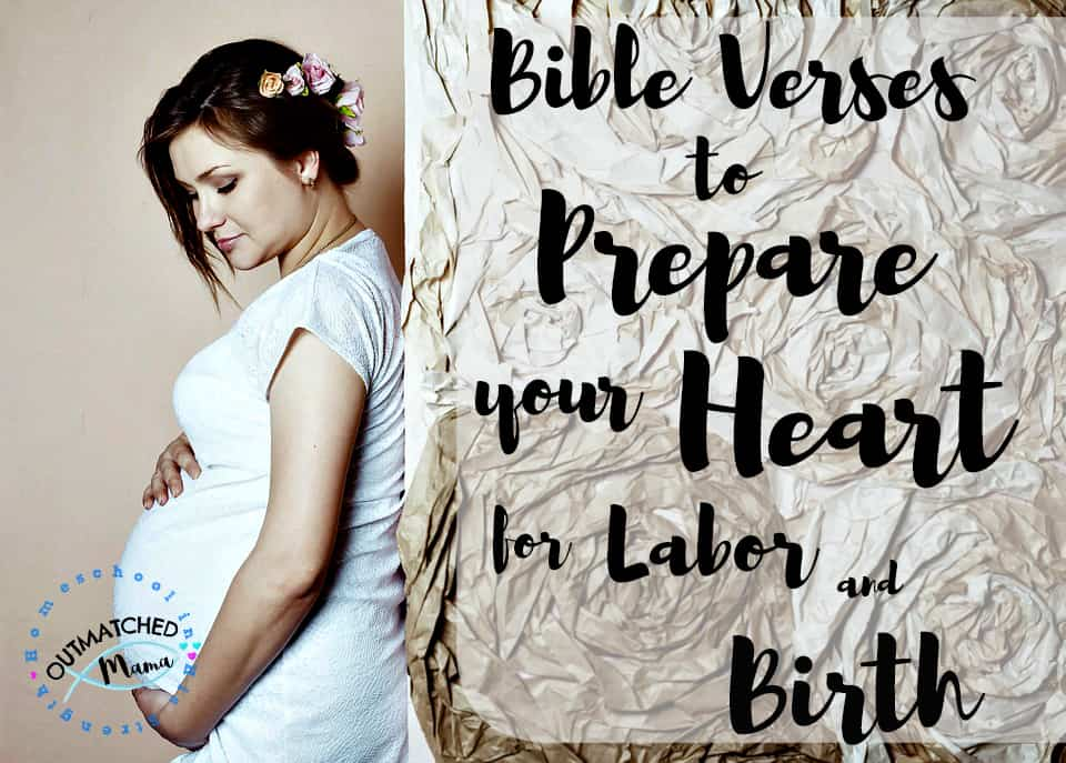 Bible Verses For Labor and Birth