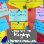 Celebrate the Blessings of Homeschooling