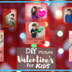 Do it yourself, Last minute Picture Valentines for kids