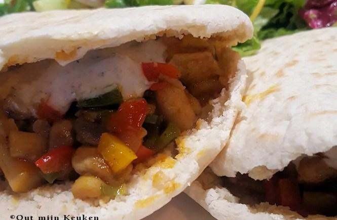 recept gezondere variant op broodje shoarma